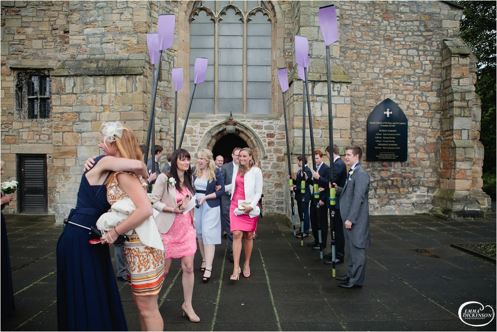 Durham Castle Wedding -96